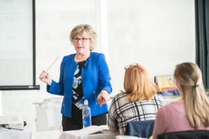 Lori Frost teaching